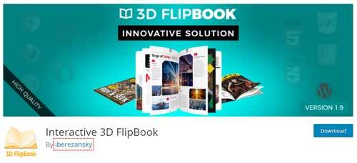 3d flipbook wp plugin