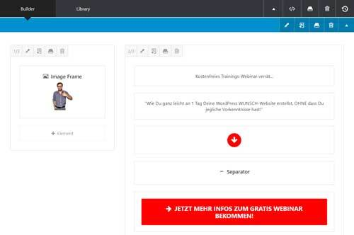 Avada WP Theme Page Builder