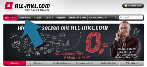 All Inkl Webhosting