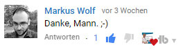 Markus-Wolf youtube kurs ads