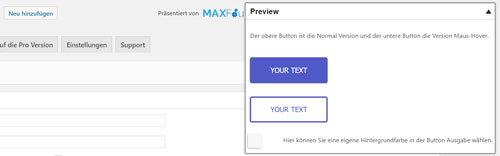 Max Buttons WordPress Button einfügen