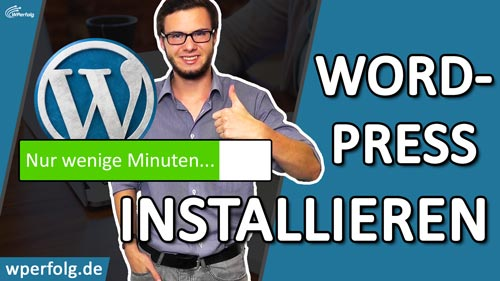 WORDPRESS INSTALLIEREN ALL INKL In-unter 5 Minuten WordPress einrichten deutsch 2018 wperfolg
