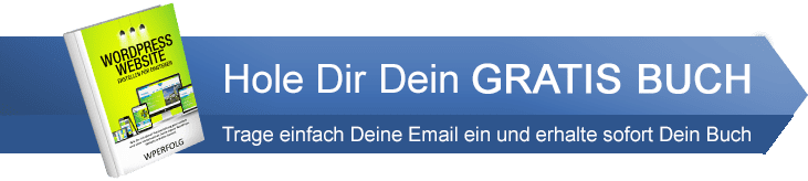 WordPress Tutorial Anleitung Buch Download Pfeil