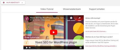 Yoast SEO Tutorial video