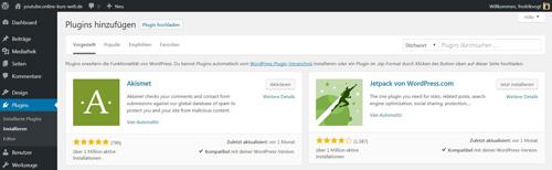 plugin anleitung website erstellen mit wordpress