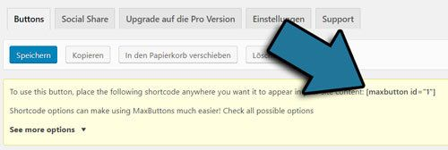 button einfügen in wordpress
