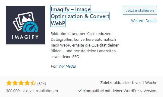 imagify-plugin-installation
