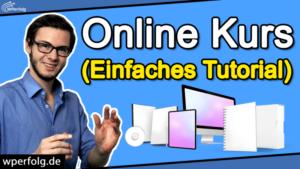 online kurs erstellen tutorial anleitung