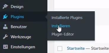 plugins installieren