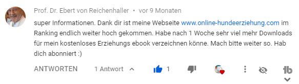 seo tutorial youtube ebert