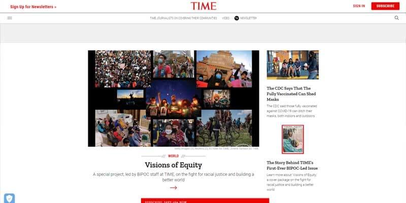 time-magazine-wordpress-homepage