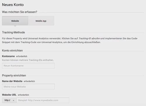 tutorial neues google analytics konto erstellen und mit wordpress verbinden
