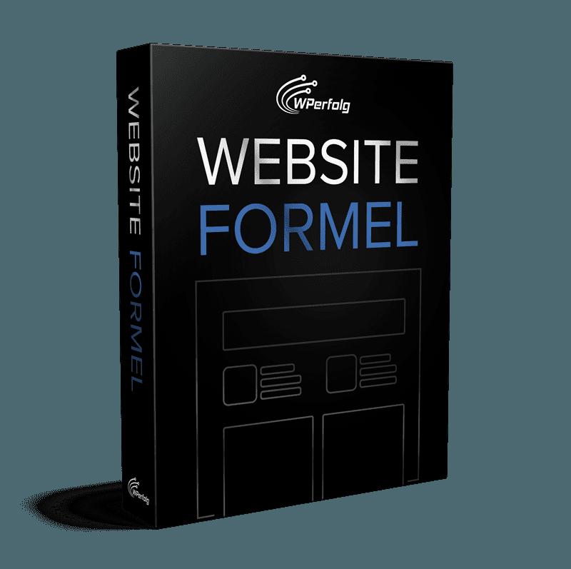 website formel wordpress kurs einsteiger ecover