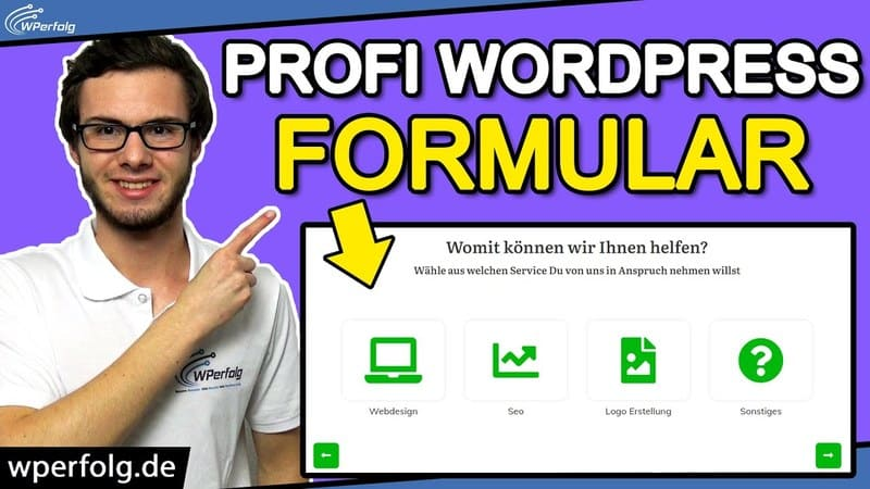 wordpress anfrageformular erstellen 2-0 pascal rähse plugin formular leads