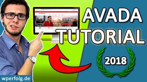 wordpress avada theme tutorial anleitung deutsch