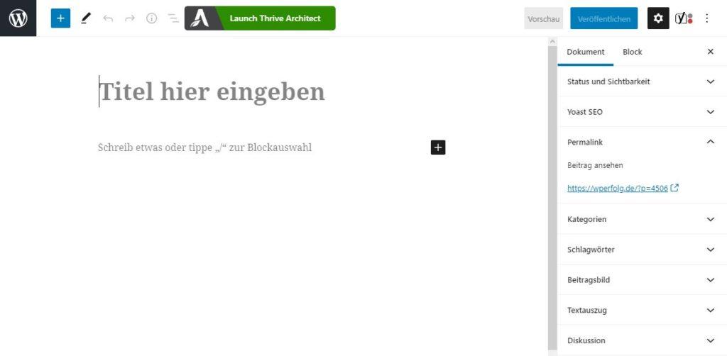 wordpress-beitrag-gutenberg