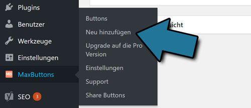 wordpress button hinzufuegen