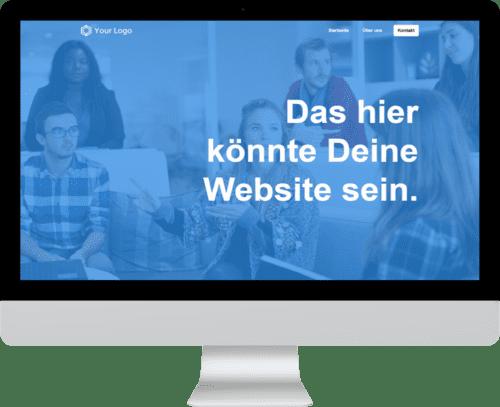 wordpress online kurs beispiel website
