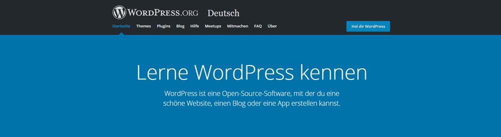 wordpress-org-website-deutsch
