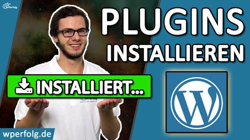 wordpress plugin installieren deutsch Titelbild