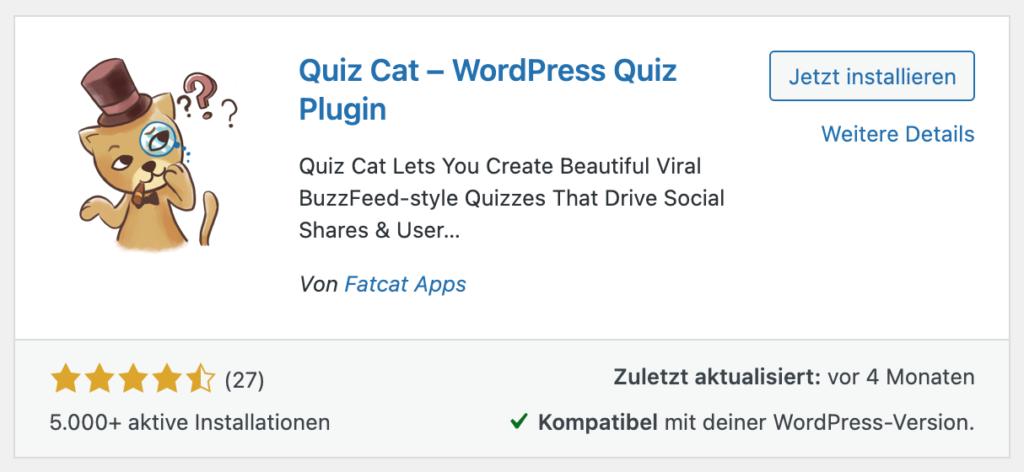 wordpress-quizcat