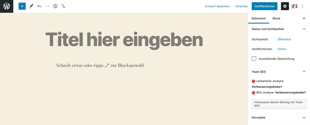 wordpress-startseite-gutenberg