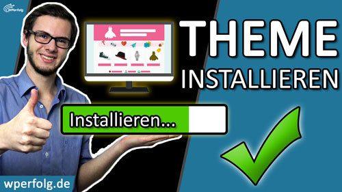wordpress theme installieren thumbnail