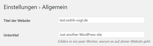 wordpress tutorial website erstellen