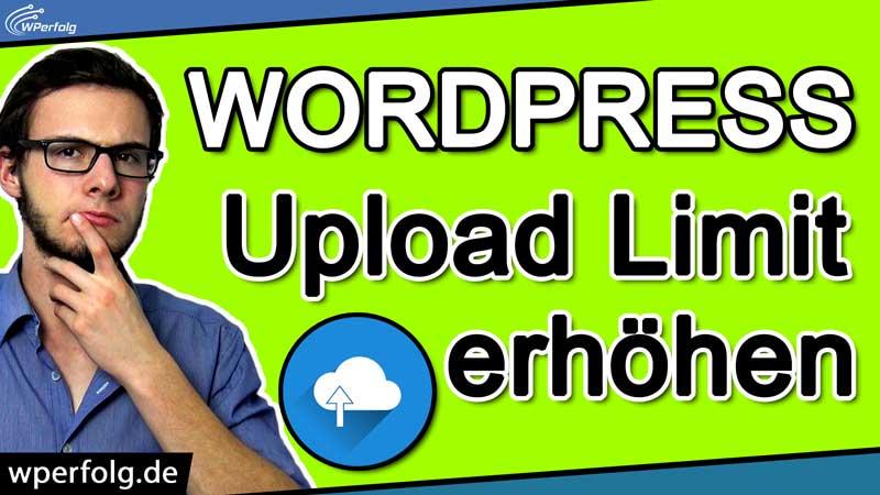 wordpress-upload-limit-erhoehen